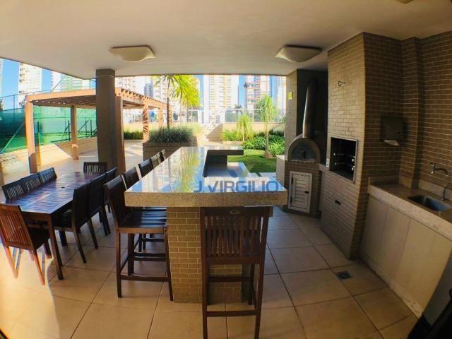 Apartamento 4 suites alto padrao frente ao parque flamboyant - Foto 9