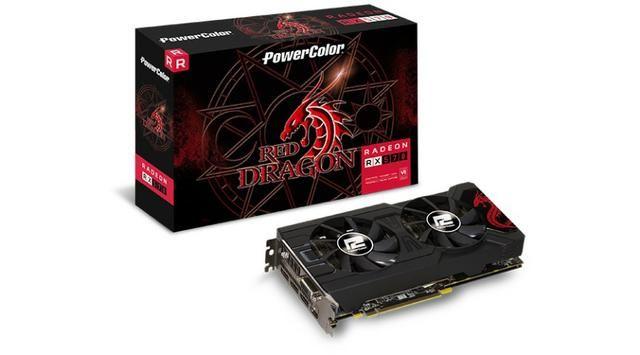 Radeon® RX 570 4GB GDdr5 D5-3DHDV2/OC