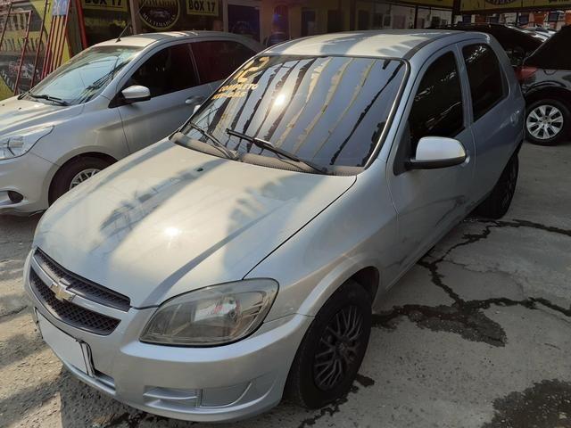 Vendo: Celta LT 1.0 2012 (Completão + Gnv) *48 x 399$ * Felipe !!!!! - Foto 3
