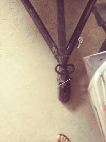 Carrocinha para moto sem molas zap * - Foto 3