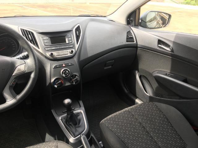 Hyundai Hb20 1.0 36mil km Impecável Ipva 2019 Pago Pneus Cabelo Completo Som no Volante - Foto 6