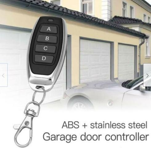COD-AM298 Controle Remoto Transmissor 433.92Mhz Código rolante Garagem Portão Porta - Foto 2