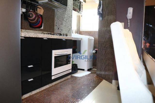 Apartamento com 2 dormitórios à venda, 54 m² por r$ 180.000 - setor dos afonsos - aparecid - Foto 15