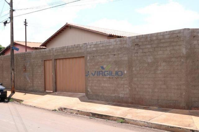 Casa com 3 dormitórios à venda, 150 m² por R$ 210.000 - Residencial Privê Norte - Goiânia/ - Foto 8