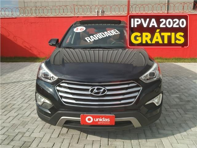 Hyundai Grand santa fé 3.3 mpfi v6 4wd gasolina 4p automático