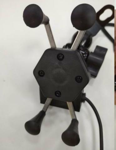 Suporte Celular moto carregador - Foto 2