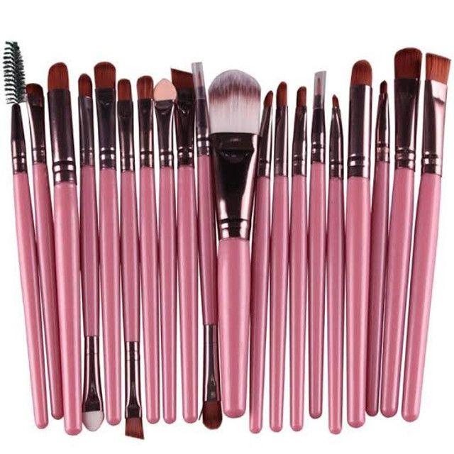 Pincel Para Maquiagem Kit Com 20 und - Foto 6