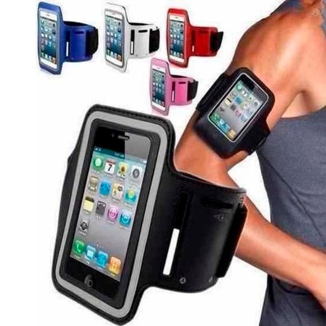 Capa de celular braçadeira iphon motoG samsung original - Foto 5