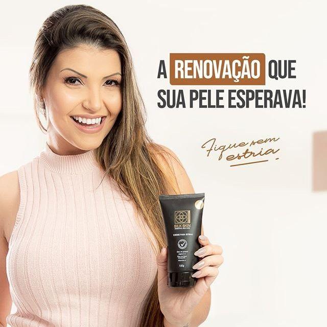 Creme para estrias - Creme para estrias Silk Skin Essential Skin Care