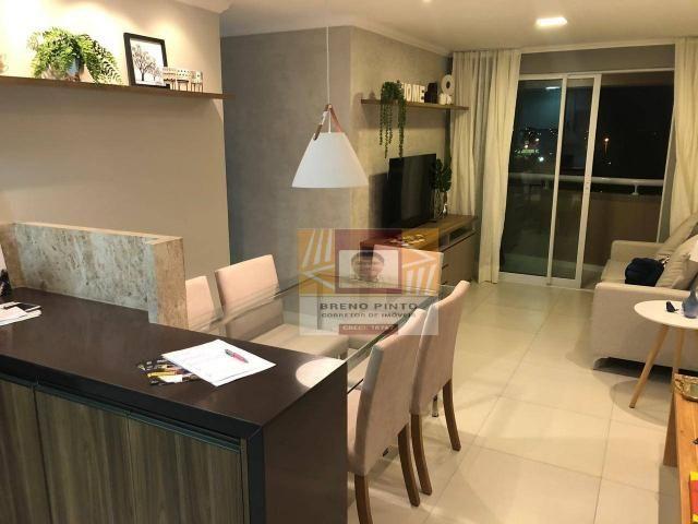 Apartamento para venda com 3 quartos e lazer completo no Guararapes - Foto 11