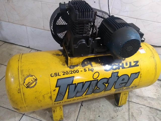 Compressor schulzcsl20/200 140libras usado - Foto 2