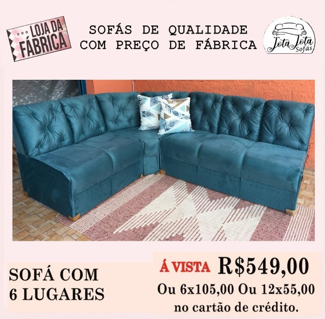 Sofas Novos Direto Da Fabrica a Partir De R$349,00 - Foto 5