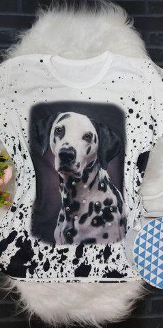 T-shirt algodão 14,99at - Foto 4