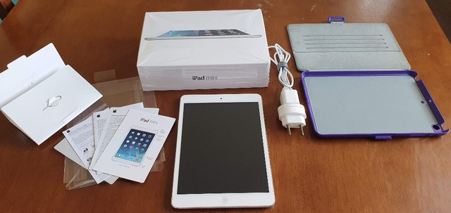 Tablet iPad - R$ 299,00 - Tela trincada - Foto 2