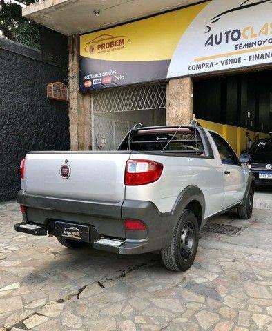 Fiat Strada Working CS 1.4 Completa // Entrada + Prestações R$ 797,45 - Foto 5