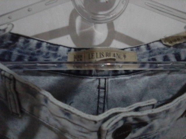Calça Jeans 42 da Le lis blanck Semi nova R$ 69.00 - Foto 6