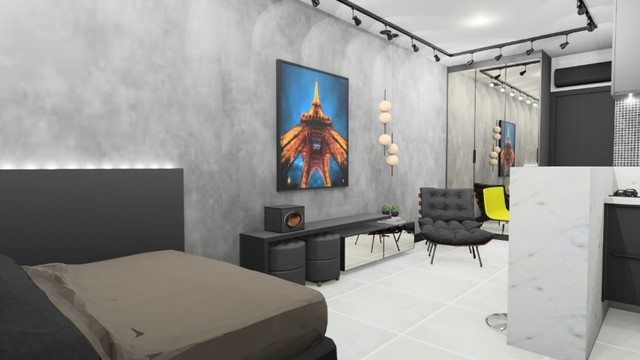 Apartamento no Centro/Kalilandia (Loft/Flat)- Celita Franca / Executive Apart Hotel - Foto 2
