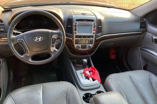 Hyundai Santa Fe 2011 3.5 v6 4x4 automático - 7 lugares- Teto solar- 285cv - Foto 11