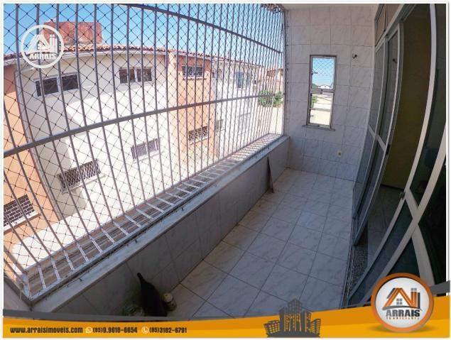 Apartamento com 3 dormitórios à venda, 120 m² por R$ 320.000,00 - Montese - Fortaleza/CE - Foto 6