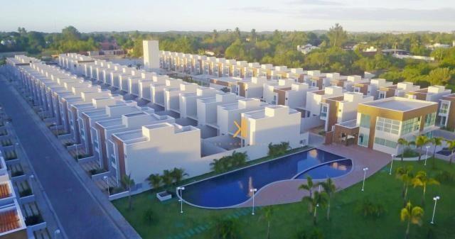 Casa com 3 dormitórios à venda, 95 m² por R$ 350.000,00 - Mangabeira - Eusébio/CE - Foto 3