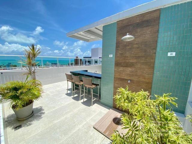 Apartamento de 1 quarto com vista para o mar - Manaira - Foto 6