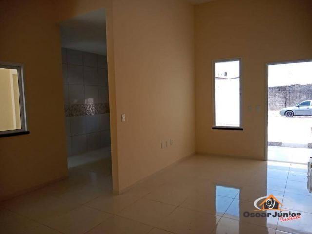 Casa com 3 dormitórios à venda, 98 m² por R$ 295.000,00 - Centro - Eusébio/CE - Foto 4