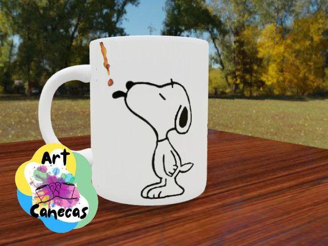 ArtCanecas Snoopy - canecas personalizadas, ideal para presente. - Foto 2