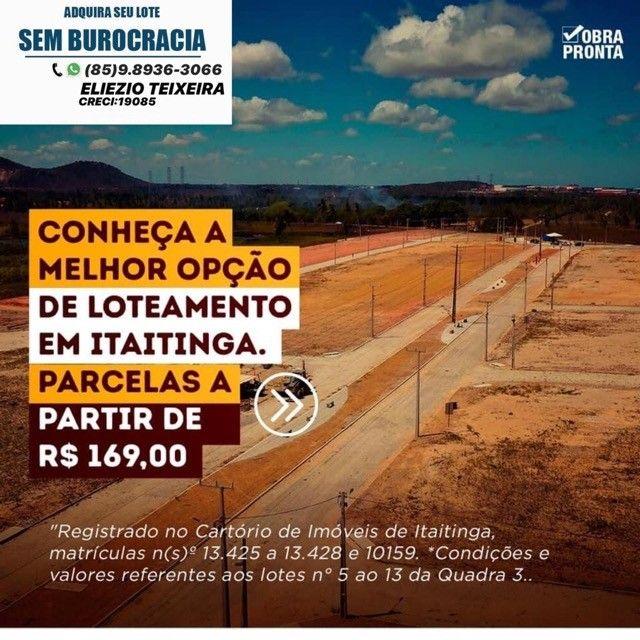 Lotes em Itaitinga com infraestrutura pronta !! - Foto 3