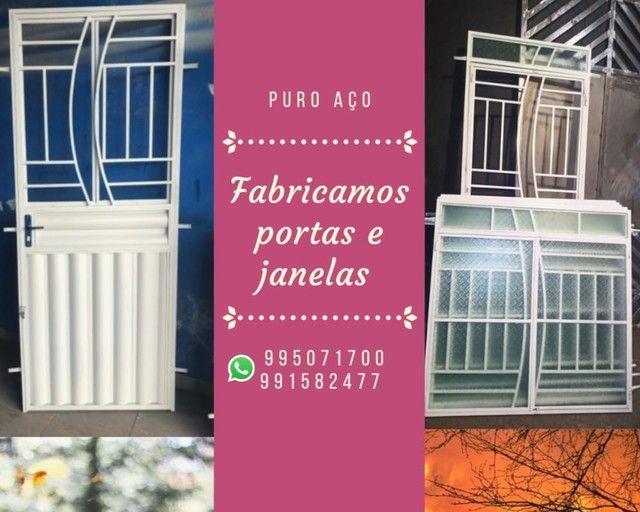 Portas e janelas e churrasqueira - Foto 2