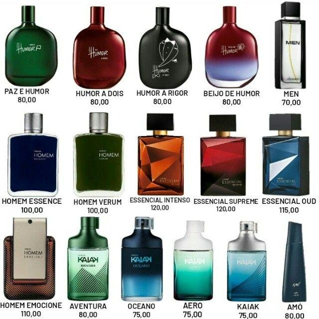 Perfumes masculinos Preços na foto