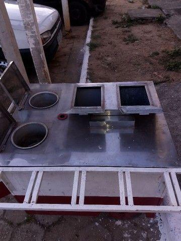 Vendo carrinho de hot dog com acessórios - Foto 3