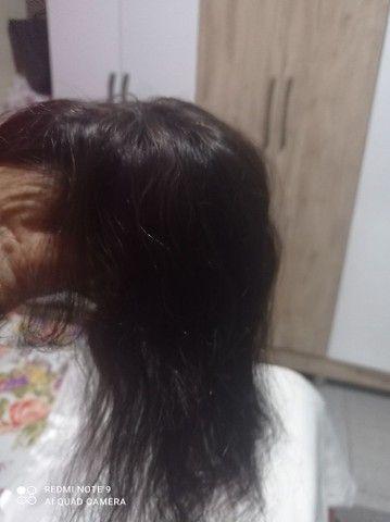 Topo de cabelo humano - Foto 3