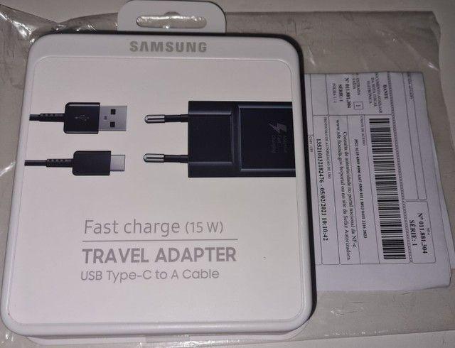 Carregador Samsung Original Fast Charge 15w USB Tipo C