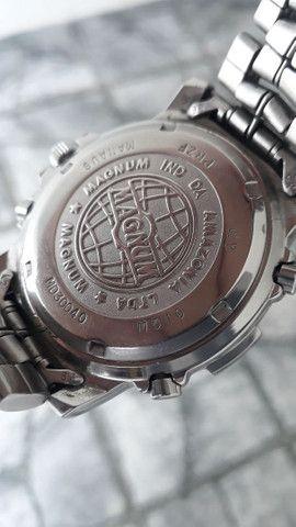 Relógio Magnum divemaster anos 90 , bem raro, relíquia  - Foto 2