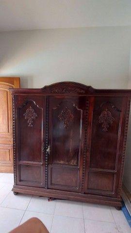 Guarda roupa Antigo 3 portas