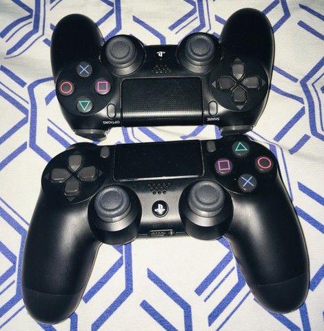 Ps4 pro c/ garantia 2 controles e 4 jogos  - Foto 3