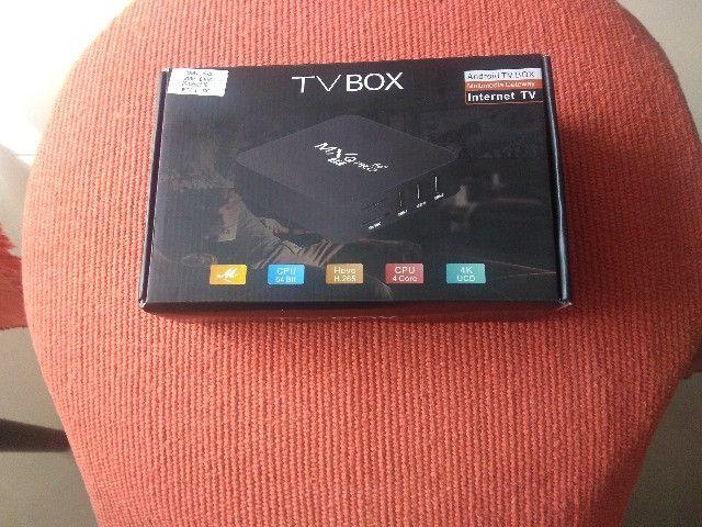 Tv Box Android (10.0) - Mx Q Pro (4k) (ram 4gb, Rom 64gb)5g