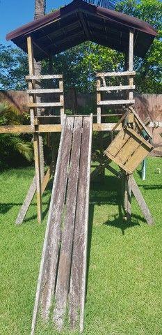 Parquinho de madeira - Foto 2