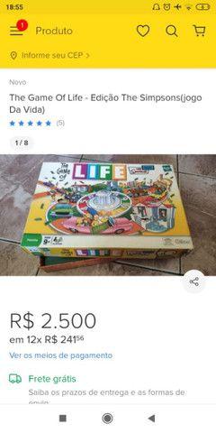 The Game Of Life - Edição The Simpsons(jogo Da Vida)  - Foto 3