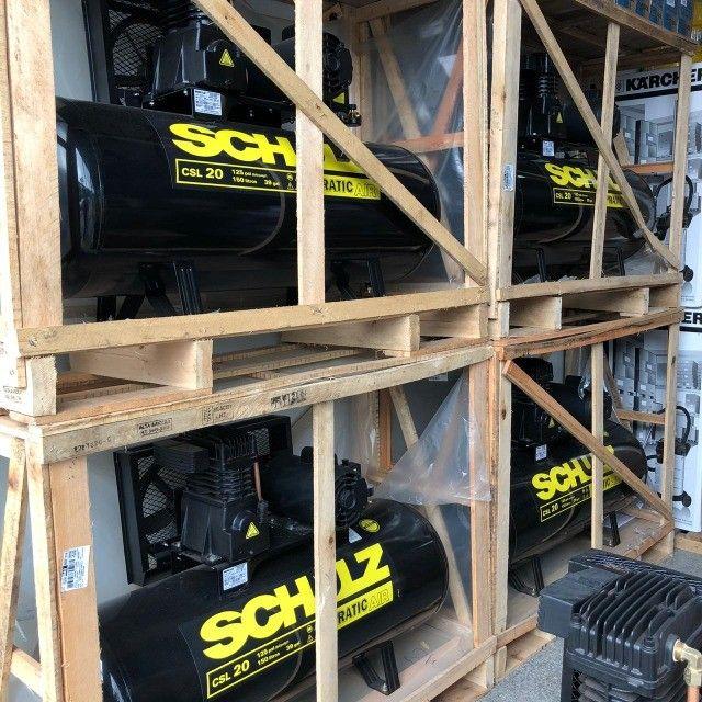Compressor de Ar Pratic Air CSL 20/150 Monofásico - Schulz - Foto 3
