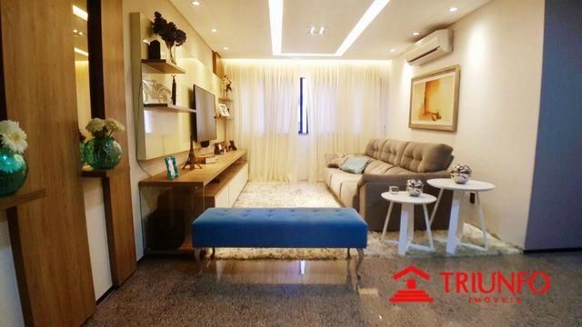 (HN) Apartamento de 137m² no Papicu - Todo Projetado - Ventilado - 3 quartos - Dce -2 vgs - Foto 5