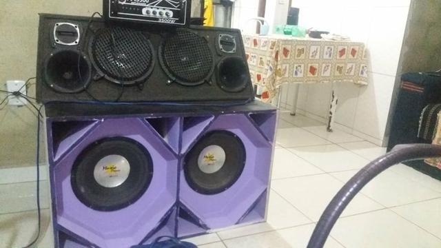 Aparelho de Som Com Amplificador