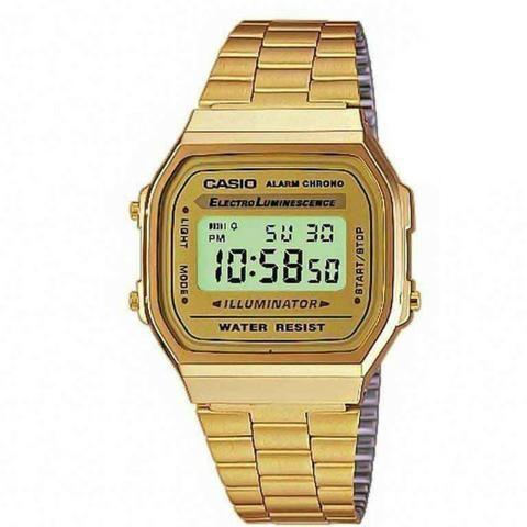 c4f9ccfd075 Relógio Casio Vintage Retrô Unissex - Bijouterias
