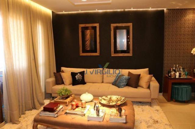 Apartamento com 2 dormitórios à venda, 54 m² por r$ 180.000 - setor dos afonsos - aparecid - Foto 2