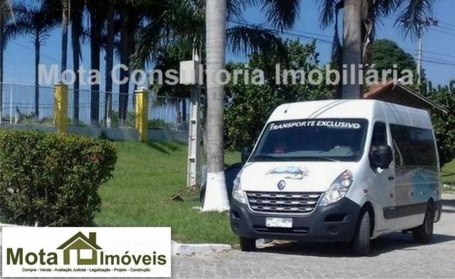 Mota Imóveis - Oportunidade em Araruama 2 Terrenos 630 m² Condomínio Segurança -TE-129-30 - Foto 3