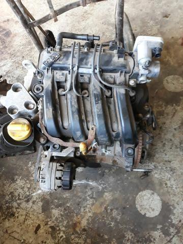 Motor Renault Clio 1.0 16v ano 2010