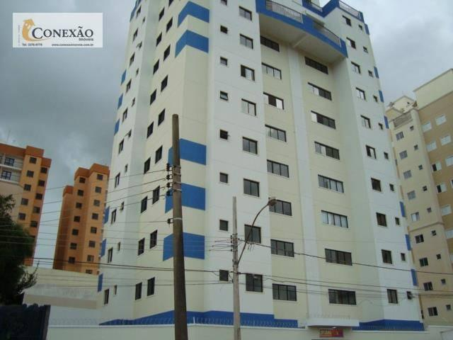 Apartamento com 1 dormitório para alugar, 30 m² por R$ 1.225,00/mês - Centro - São Carlos/