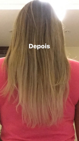 Vendo Mega Hair de Fita Adesiva Loiro