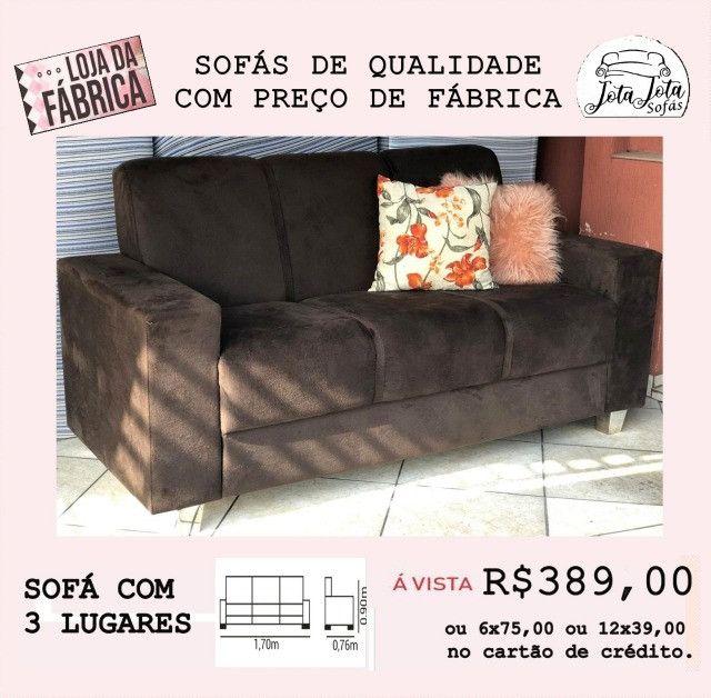 Isso mesmo sofás novos direto da fabrica a partir de 389,00!! - Foto 2