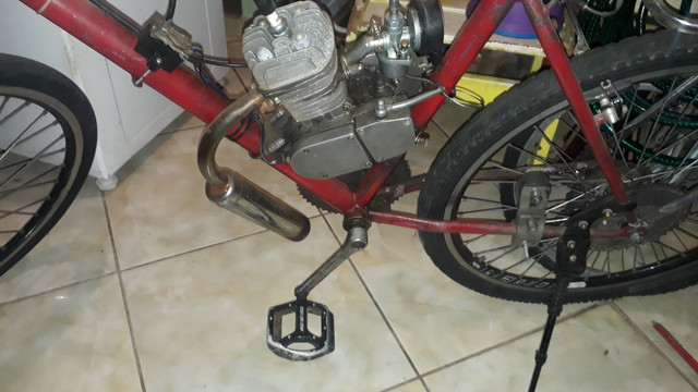 Só hoje bicicleta motorizada  - Foto 2